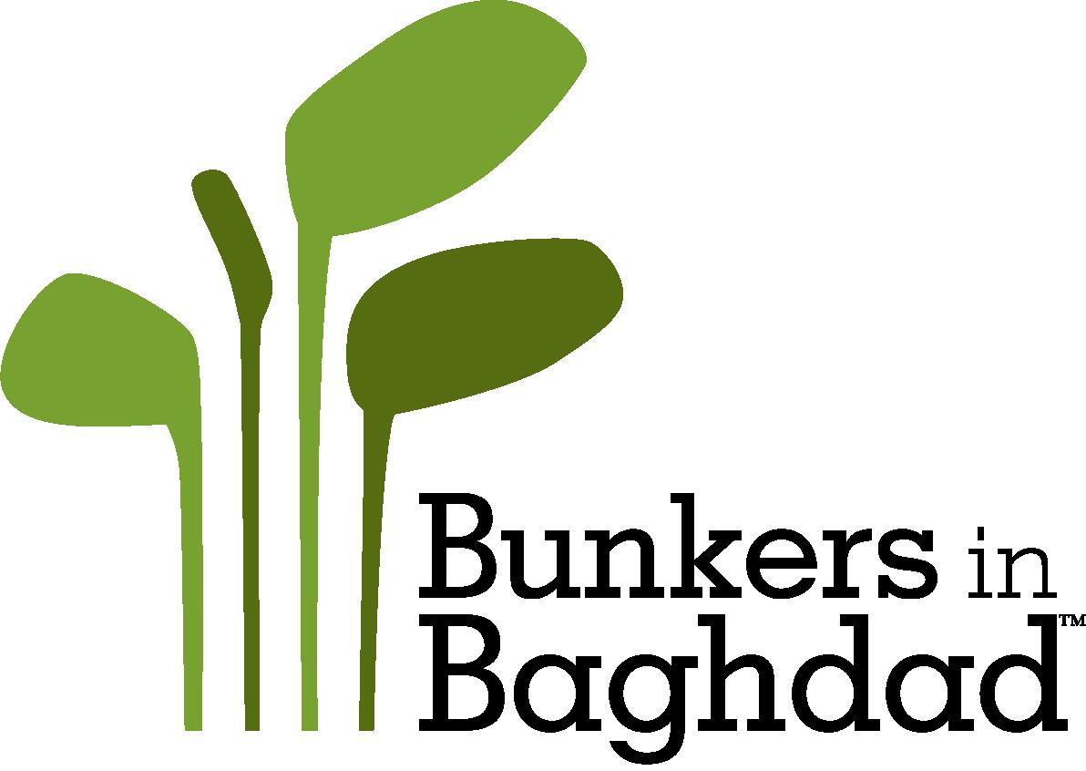 Bunkers in Baghdad Logo